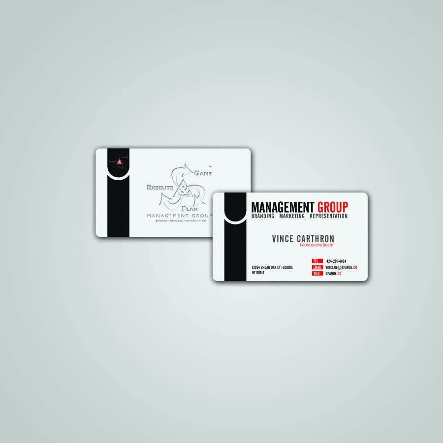 Inscrição nº 5 do Concurso para Design Spot Gloss Business Card with Rounded Corners