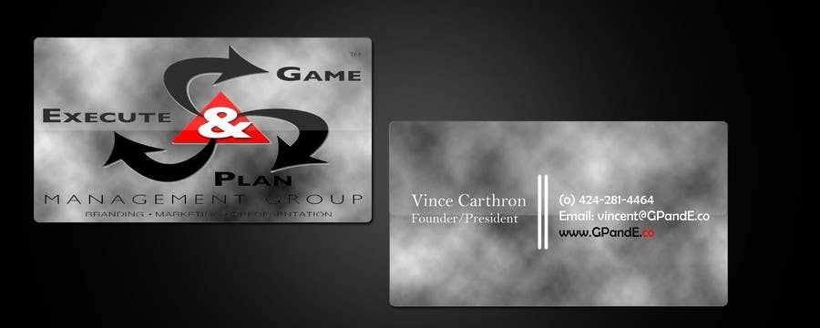 Contest Entry #18 for Design Spot Gloss Business Card with Rounded Corners