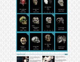 #58 for Redesign Gothic/Fantasy webshop (5 pages) af MagicalDesigner