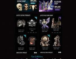 #61 for Redesign Gothic/Fantasy webshop (5 pages) af MagicalDesigner