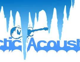 "Nro 5 kilpailuun Design a Company Logo for ""Arctic Acoustics"" käyttäjältä klabd"