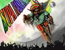 #21 for Reggae Peace Superhero Pic by Pasztel