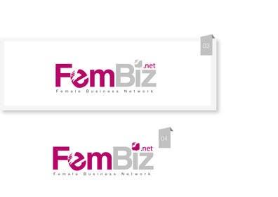 Nro 121 kilpailuun Design a Logo for FemBiz käyttäjältä creativeartist06