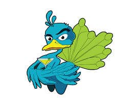 Nro 26 kilpailuun Boozy Peacock Mascot Design käyttäjältä alvinamaru