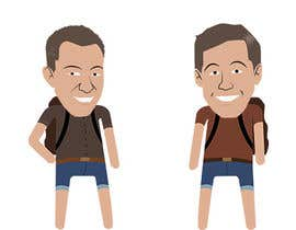 #13 untuk Design Caricatures/Cartoons for a travel blog oleh Dahlenborg