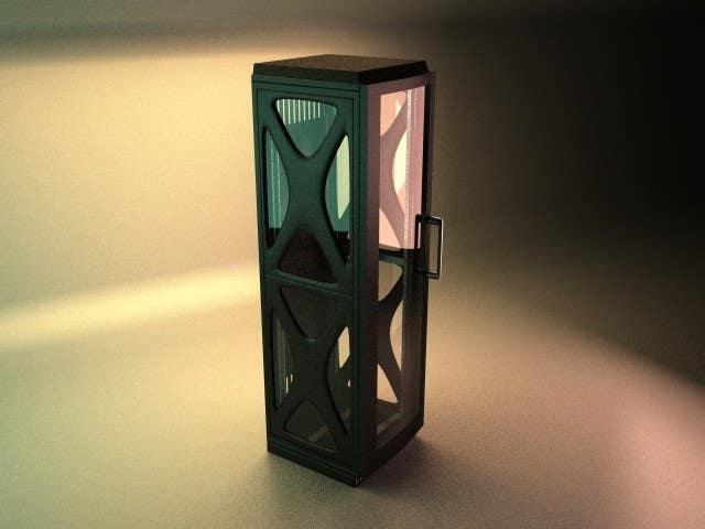 Konkurrenceindlæg #18 for Do some 3D Modelling for Server Rack