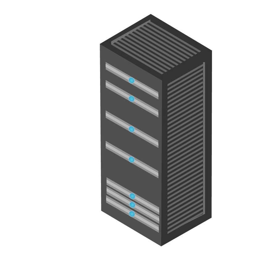 Contest Entry #8 for Do some 3D Modelling for Server Rack