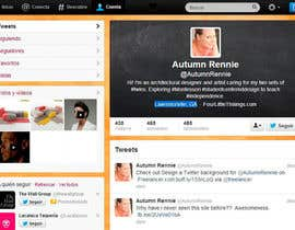 #4 para Design a Twitter background for @AutumnRennie por Osirisc