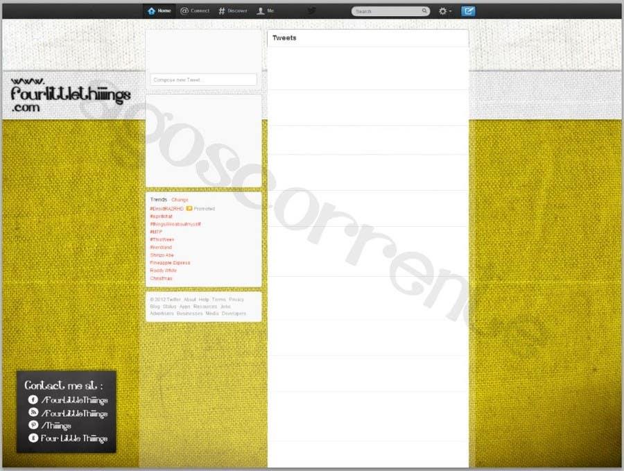Bài tham dự cuộc thi #                                        3                                      cho                                         Design a Twitter background for @AutumnRennie