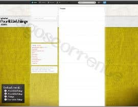 #3 untuk Design a Twitter background for @AutumnRennie oleh agoscorrente