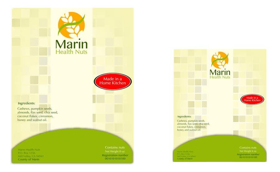 Bài tham dự cuộc thi #                                        2                                      cho                                         Design food packaging label