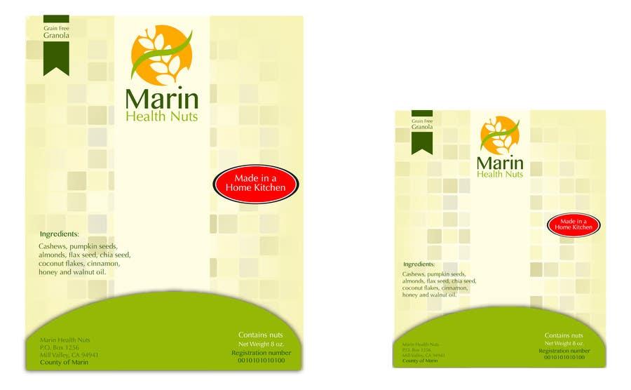 Bài tham dự cuộc thi #                                        3                                      cho                                         Design food packaging label