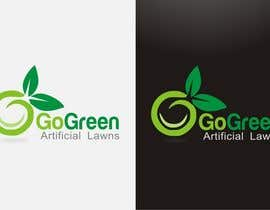 #635 untuk Logo Design for Go Green Artificial Lawns oleh madcganteng