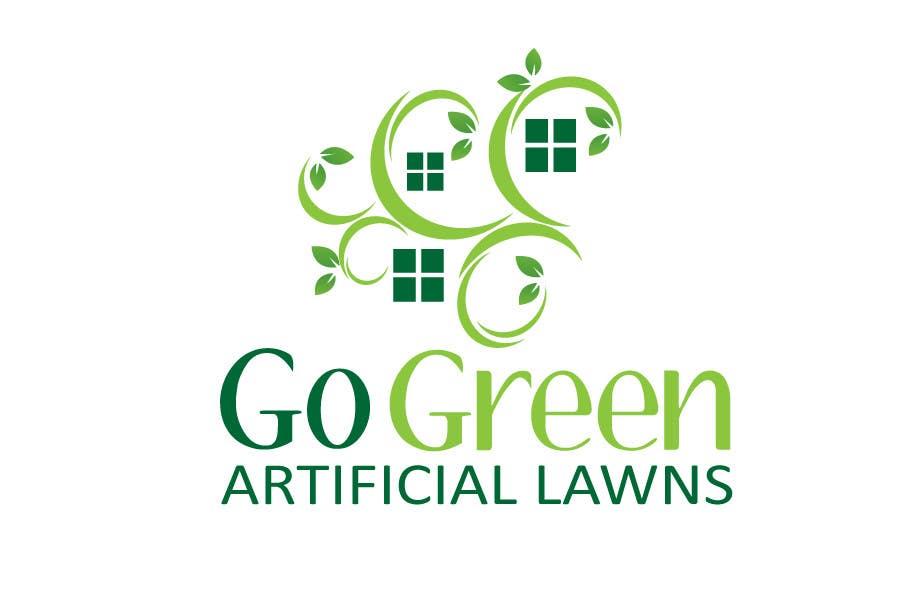 Bài tham dự cuộc thi #572 cho Logo Design for Go Green Artificial Lawns