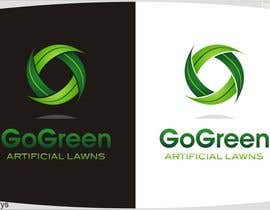 #499 untuk Logo Design for Go Green Artificial Lawns oleh innovys