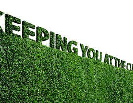 #27 cho I need some Graphic Design for a strapline cut in a hedge bởi Stevieyuki