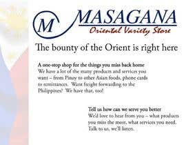 #4 para Write a tag line/slogan and content for a Specialist Philippine Grocery Store por oggieramos