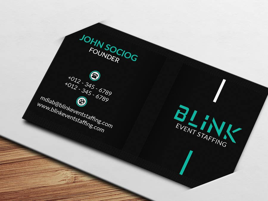 Entry 51 by dotrana for business card for an event staffing company contest entry 51 for business card for an event staffing company colourmoves