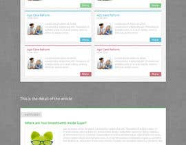 #14 para Redesign Webpage for Articles por YoramD