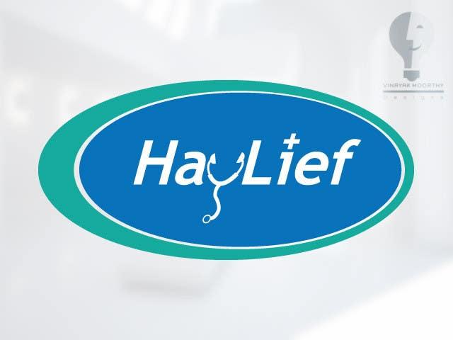 "Penyertaan Peraduan #15 untuk Design a Logo for New Hayfever Tablet Box called ""Haylief"""