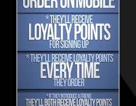 nº 14 pour Design a promotional poster for a mobile app and loyalty programme par EFrad