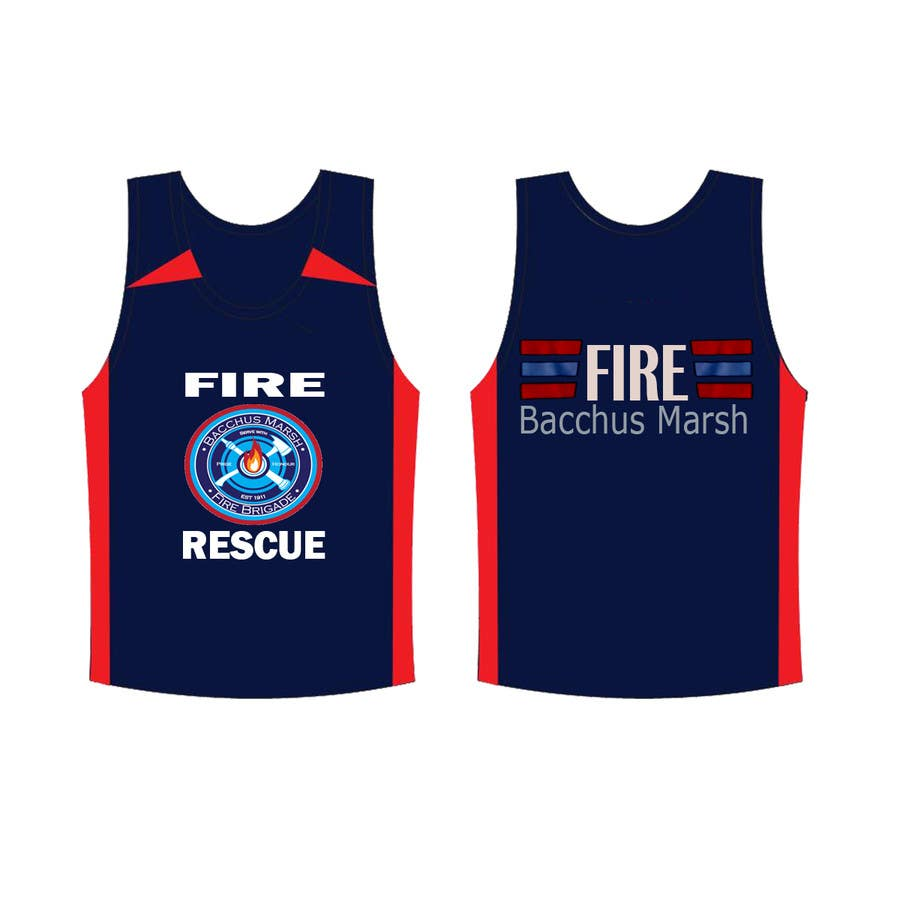 Entry 12 By Medesign1 For Fire Brigade T Shirt Design Freelancer