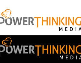 #508 untuk Logo Design for Power Thinking Media oleh stevesmileyrgd