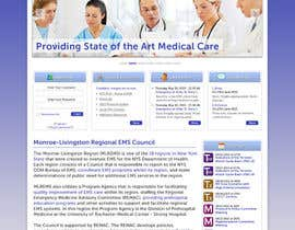 #13 for Design a Website Mockup for mlrems.org using henriettaambulance.org as design template by JosephNgo