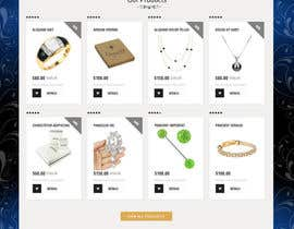 #10 for Jewellery Store HomePage by jituchoudhary