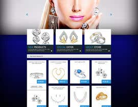 #9 for Jewellery Store HomePage by shyRosely