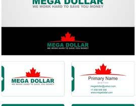 nº 18 pour Develop a Corporate Identity for Mega Dollar par airbrusheskid