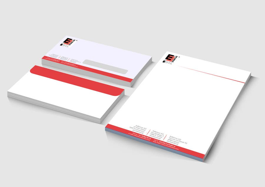 #7 for Design of the letterhead for a construction company by ninjapz