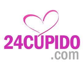 nº 24 pour Logo design for 24CUPIDO.COM par GraphiliaPrints