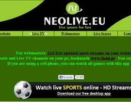 #31 untuk LOGO DESIGN FOR A STREAMING SPORT SITE oleh tatuscois