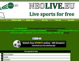 #33 untuk LOGO DESIGN FOR A STREAMING SPORT SITE oleh morbs