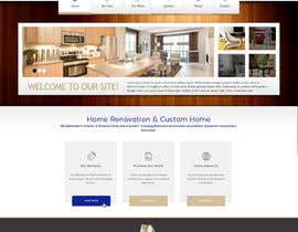 nº 18 pour Design a Website Mockup for Western/Cowboy sports med - AND - Renovations par JosephNgo