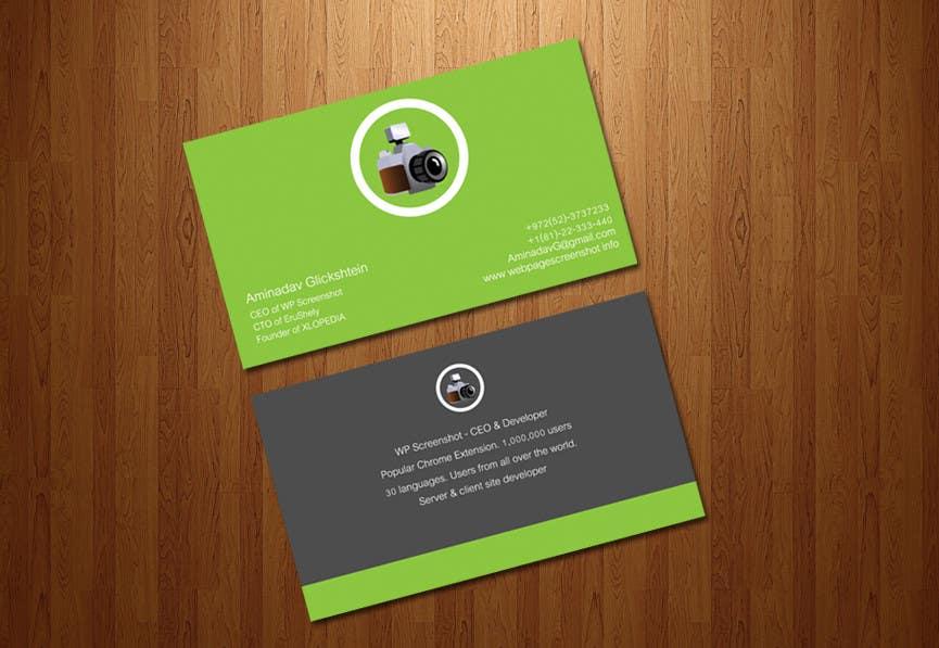 Proposition n°27 du concours URGENT URGENT!! Design me a bussiess card. $30 in an hour!