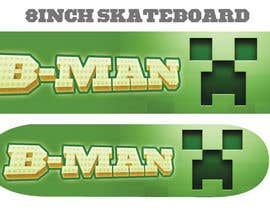 #16 for I need some Graphic Design for Son Custom made Skatebaord af Zeshu2011