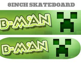 nº 25 pour I need some Graphic Design for Son Custom made Skatebaord par Zeshu2011
