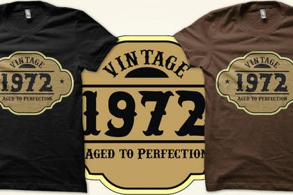 #129 untuk T-shirt Design for Birthday Tee oleh Luddy