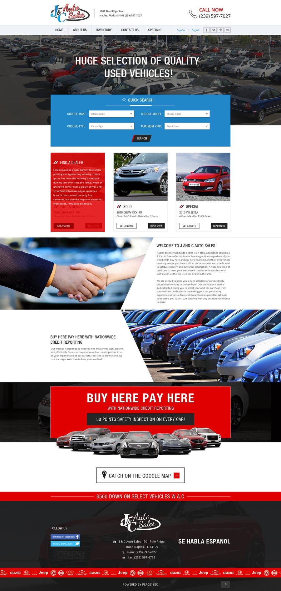 Entry 23 By Rssofts For Website Mock Up For Auto Dealer Of Used