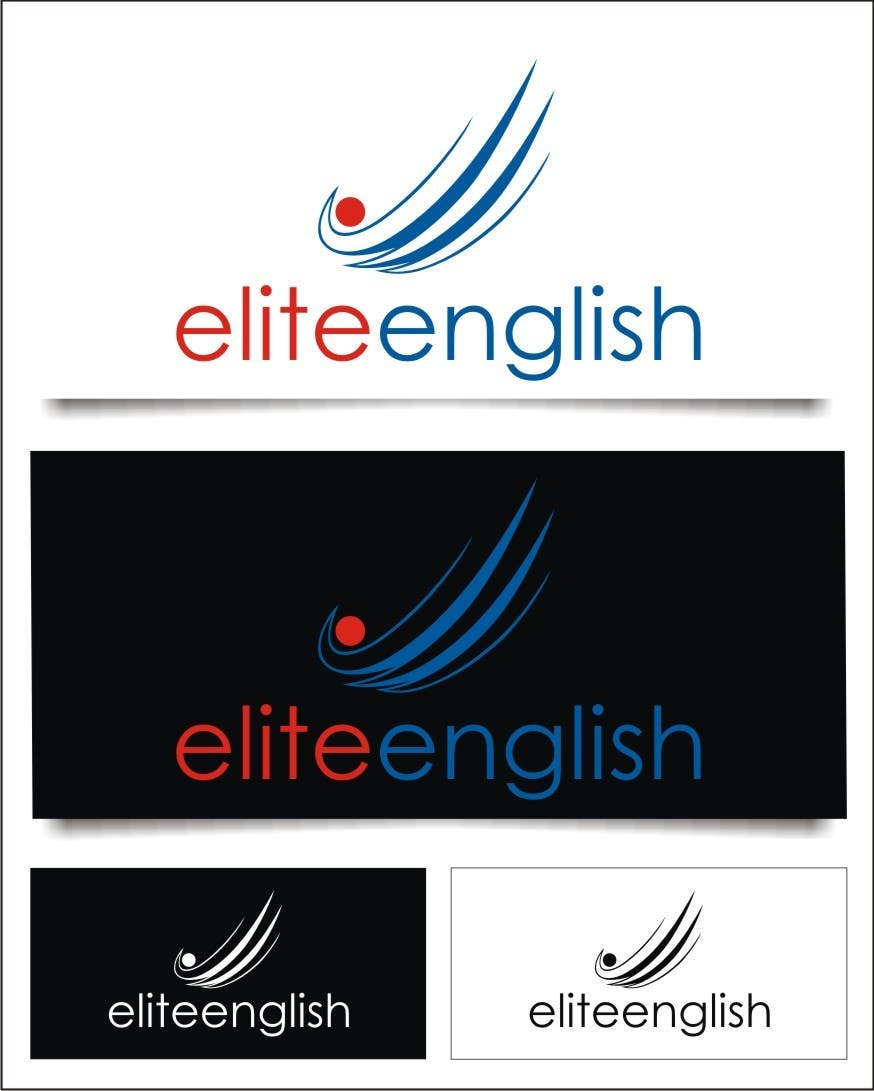 #112 for Design a Logo for Elite English by indraDhe