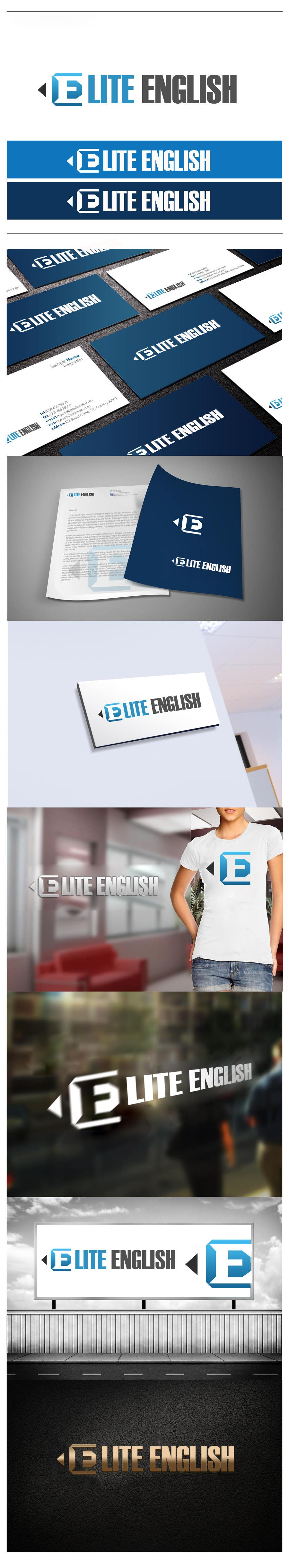 #156 for Design a Logo for Elite English by wlgprojects