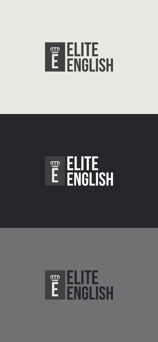 #106 for Design a Logo for Elite English by davidhughes88