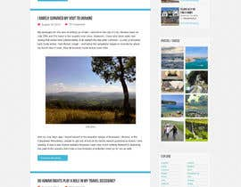 #17 para Design a Wordpress Site for Travel Blog por WordPressExpert4
