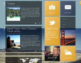 clinux tarafından Design a Wordpress Site for Travel Blog için no 4
