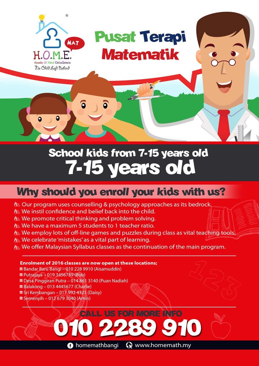 Worksheet Kids Math Program entry 1 by vitjoman for design an advertisement a kids math contest program