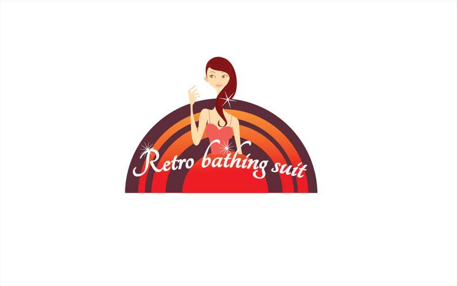 Bài tham dự cuộc thi #                                        32                                      cho                                         Design a Logo for Retro Bathing Suit website and print
