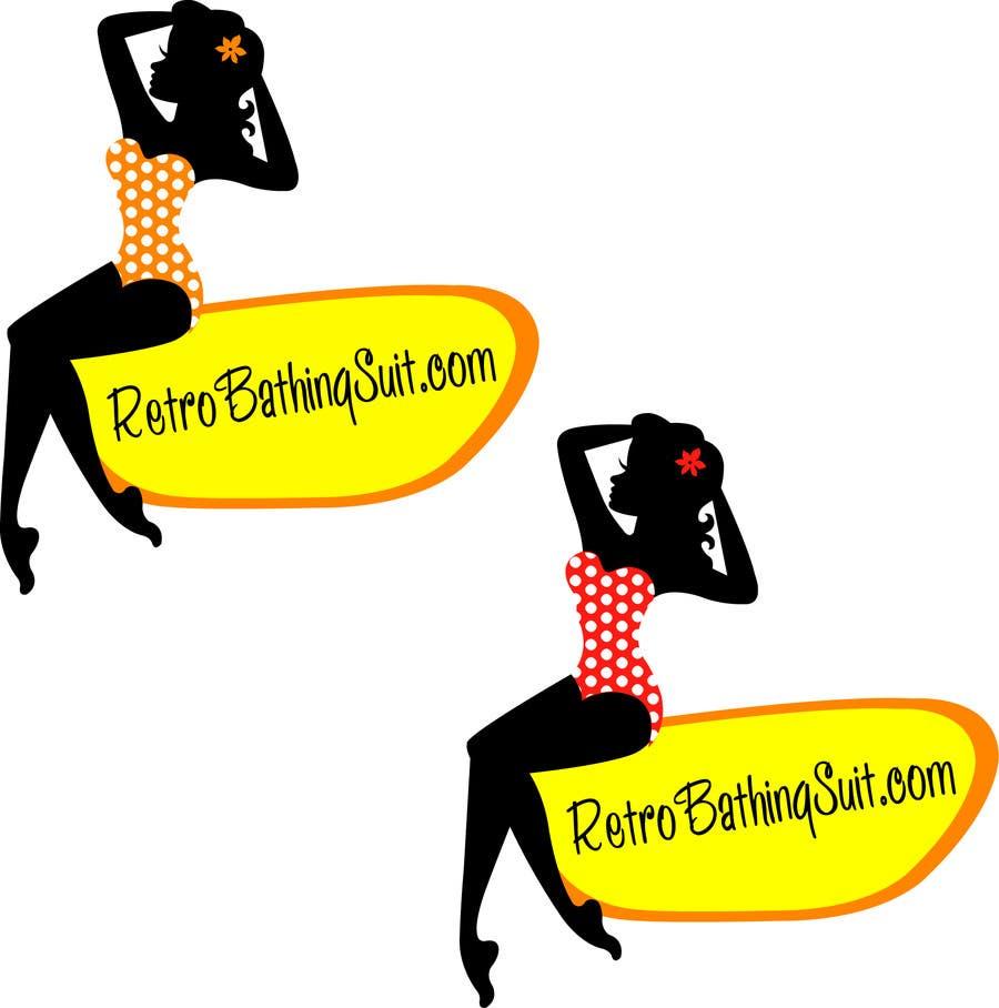 Bài tham dự cuộc thi #                                        21                                      cho                                         Design a Logo for Retro Bathing Suit website and print