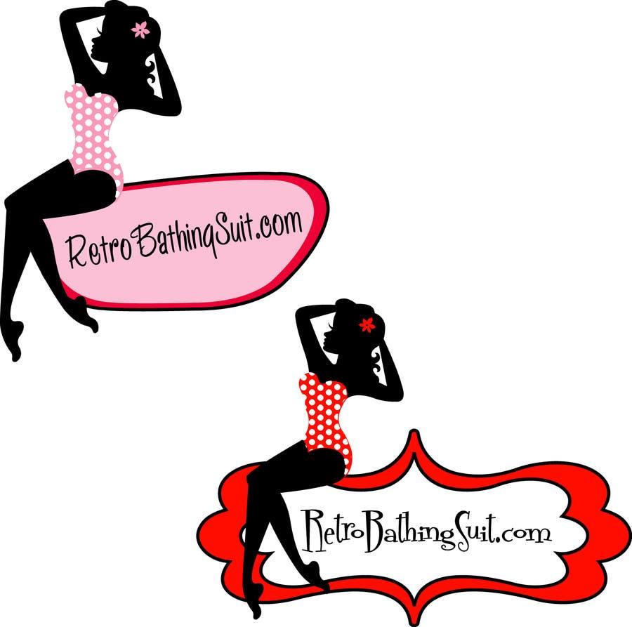 Bài tham dự cuộc thi #                                        27                                      cho                                         Design a Logo for Retro Bathing Suit website and print